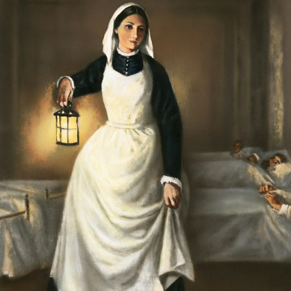 illustration-of-florence-nightingale-holding-lamp
